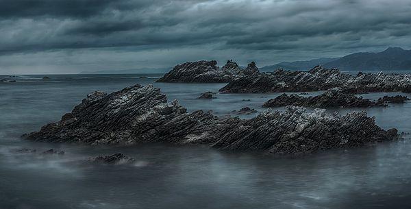 #newzealand #nz #kaikoura #nzmustdo #nature #ocean #longexposure #water