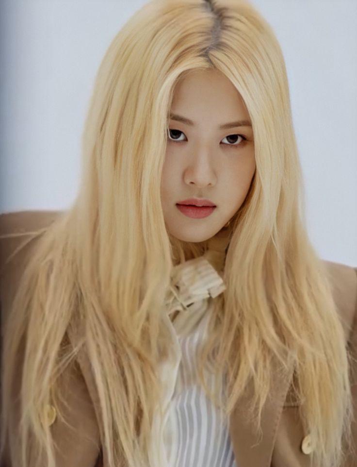 Rosé pics on Twitter in 2020 | Kpop hair color, Blackpink rose, Blackpink