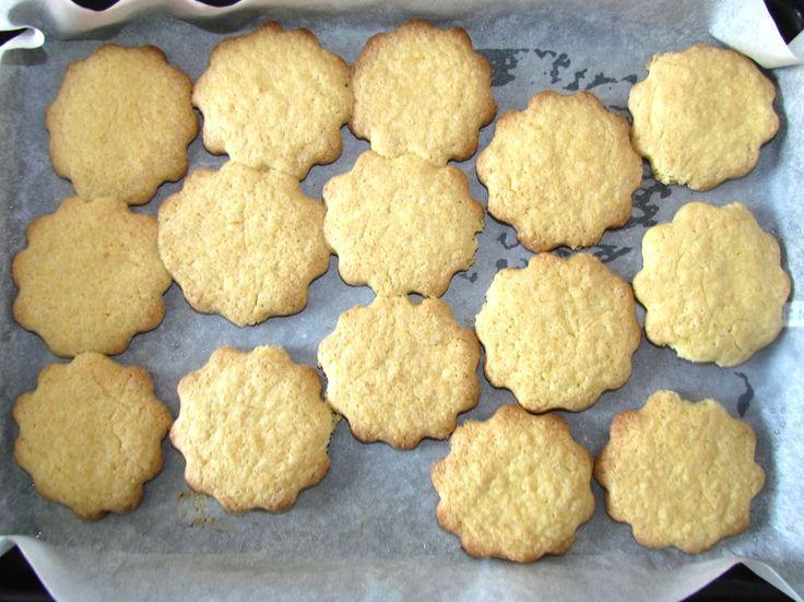 Лимонное печенье в виде цветочков рецепт с фото