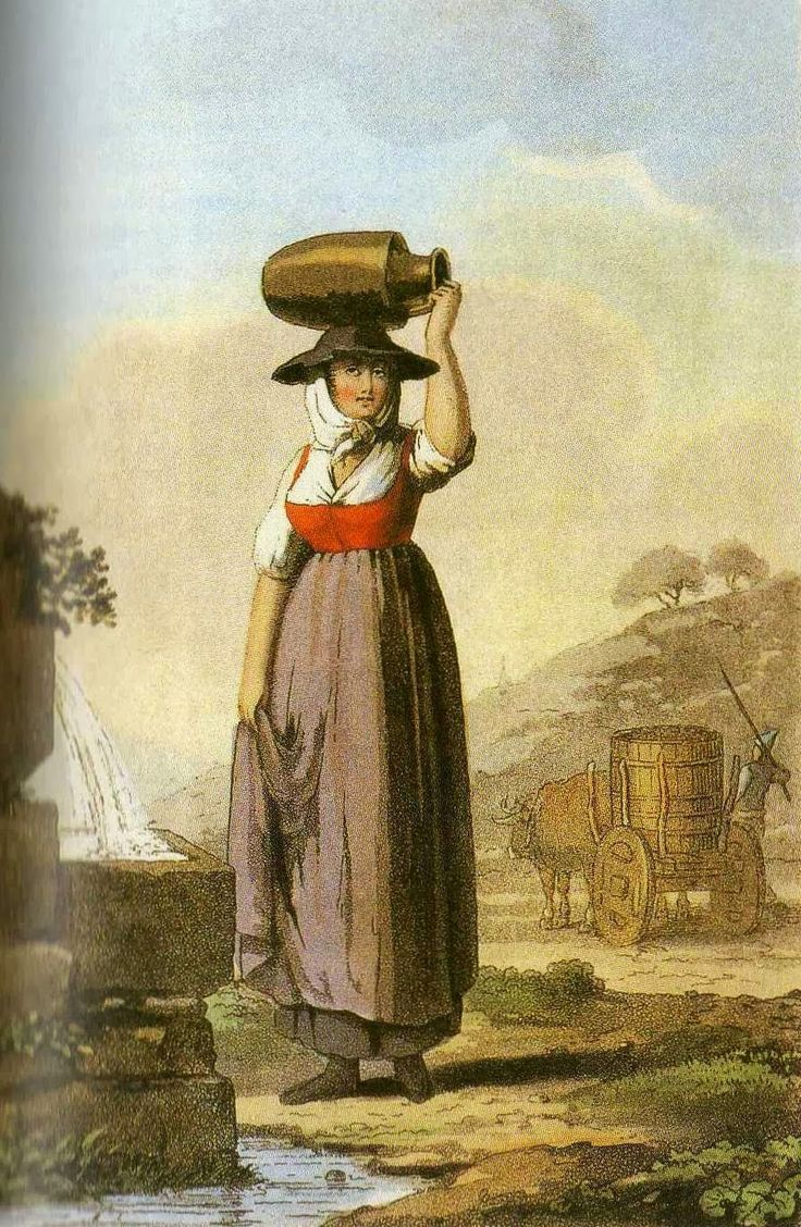 7 best christelle - flower seller 1700's images on Pinterest