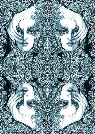 "Saatchi Art Artist Annette Golden; Printmaking, ""Seth - Limited Edition 3 of 100"" #art"