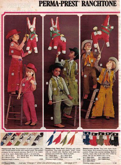 Sears Perma-Prest Ranchtone, 1975