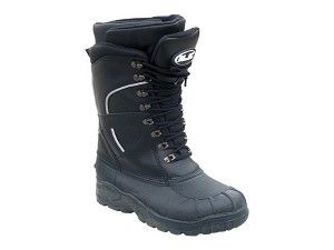 HJC Extreme Men's Leather Snocross Snowmobile Boots - Size 10