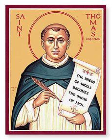Catholic News World : Saint January 28 : St. Thomas Aquinas : Patron of Catholic #Universities, #Colleges, and schools