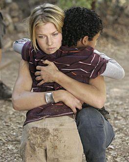 "Heroes - ""Fallout"" - Noah Gray-Cabey as Micah Sanders, Ali Larter as Niki Sanders | Chris Haston/NBC Photo"