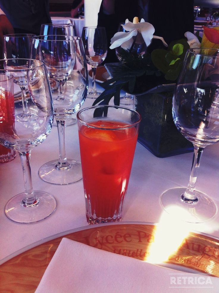 cocktail, cosmopolitain - Lycée Paul Augier, Nice