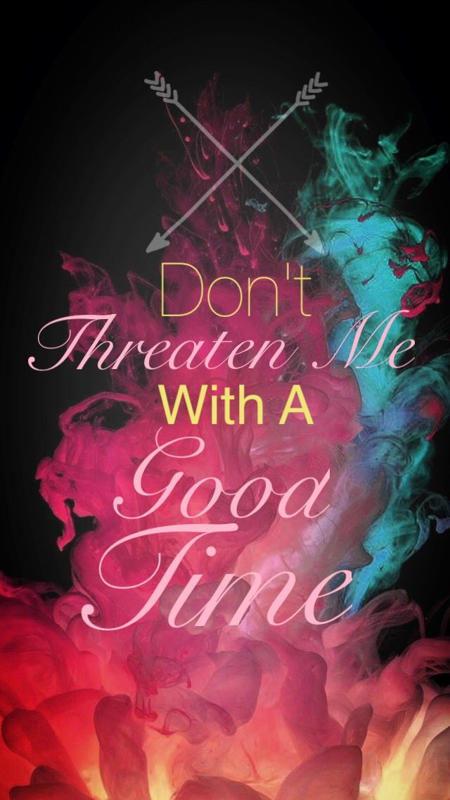 Don't Threaten Me With A Good Time Panic! At The Disco iPhone Background Wallpaper