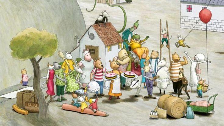 Picknick met taart - prachtige kinderfilm