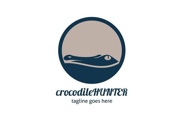Crocodile Hunter Logo by tkent on @creativemarket