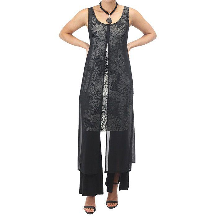 Jersey Mesh Madame Tunic | Ladies Australian Fashion & Clothing Online | Melbourne Fashion – Motto