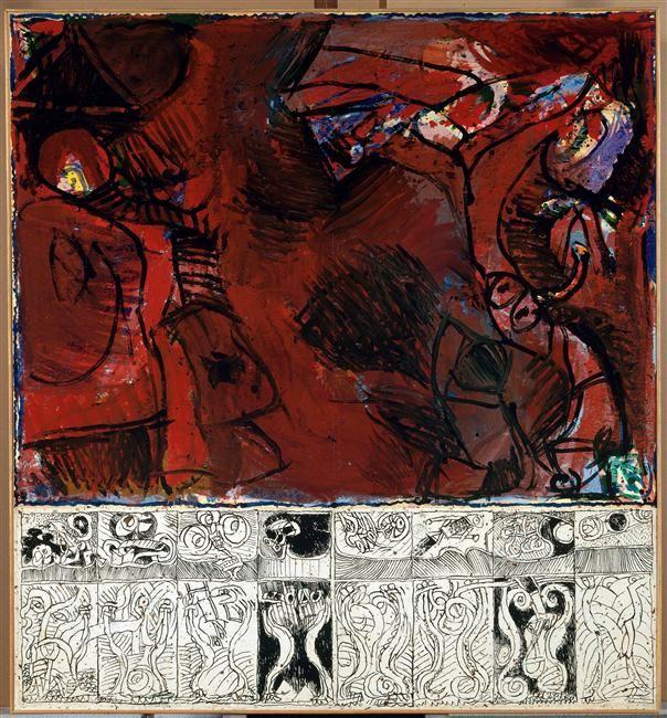 Souvent 175 best Pierre Alechinsky images on Pinterest | Stone, Paintings  KV61
