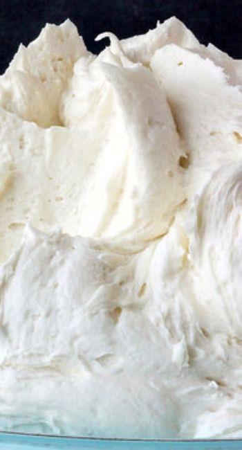 Perfect Vanilla Frosting Recipe