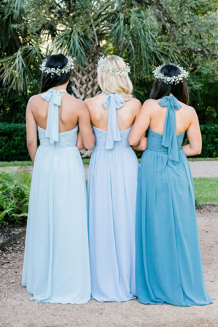 The 25 best bridesmaid gown pictures ideas on pinterest wedding mix and match revelry bridesmaid dresses and separates kennedy convertible chiffon bridesmaids gowns pictured in ombrellifo Gallery