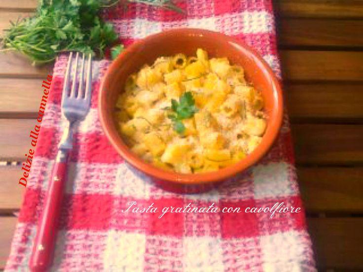 Pasta+gratinata+con+cavolfiore