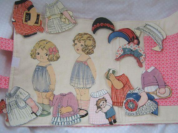 Paper Dolls by Windham Fabrics