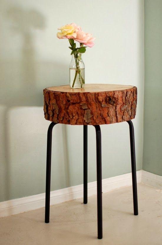 Virlova Interiorismo: [Deco] Un toque natural en tu hogar: troncos reciclados