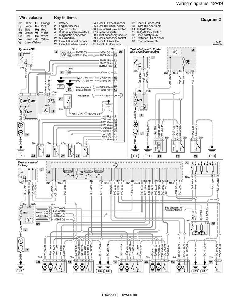 Ford Focus 2000 Fuse Box Diagram Chilton