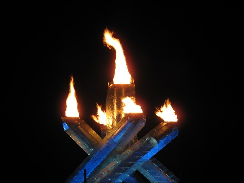 Vancouver BC Canada (Olympic Torch )