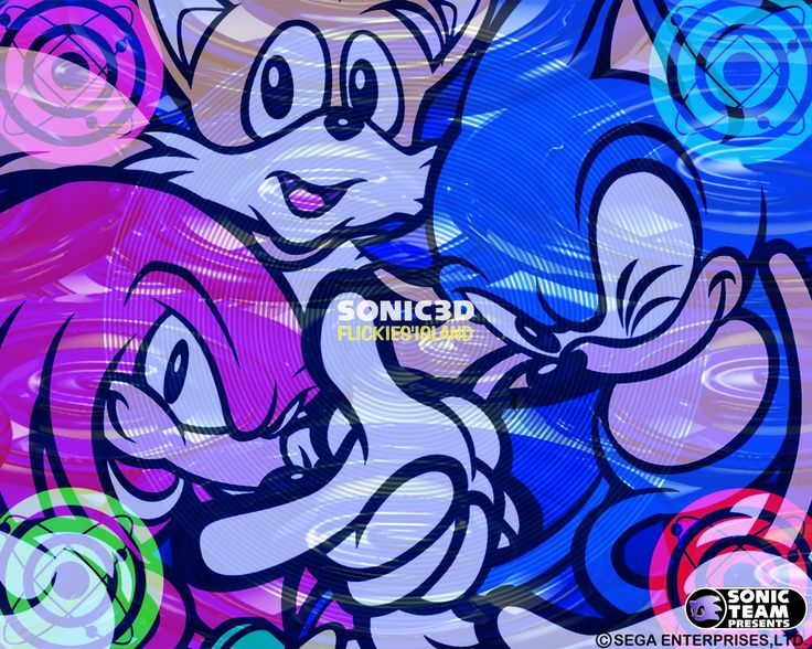 free wallpaper and screensavers for sonic 3d blast, 406 kB - Doc Nail