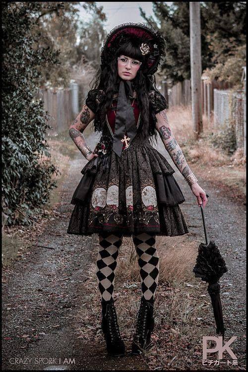 Amazing gothic lolita coord