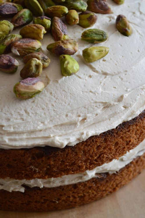 How good do some flavour combinations sound, let alone taste? Coffee - check, cardamom - check, pistachio - check… I made this for my Mums birthday and she was happy.