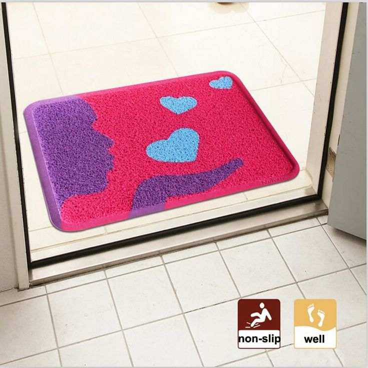 Find More Bath Mats Information about Home Anti Slip Floor Mat,PVC Floor Mat ,Bathroom non slip Rug,home door mat and floor mat filsia blue purple WYA4to7,High Quality pvc floor mat,China bathroom rug Suppliers, Cheap blue mat from Household Products wholsale and Retail on Aliexpress.com