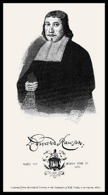 Founder Of Massachusetts Bay Colony | First Secretary of the Massachusetts Bay Colony, Edward RAWSON ...