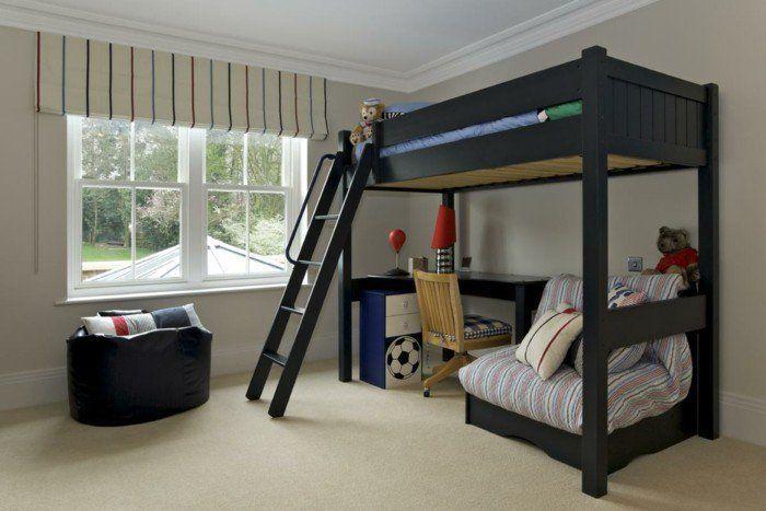 Kinderzimmer mit Hochbett einrichten für eine optimale