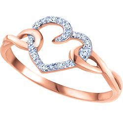 7 best promise rings images on Pinterest | Pink gold rings ...
