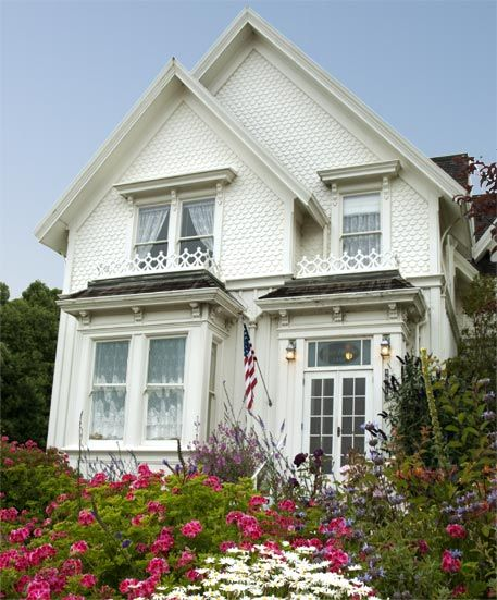 My dream home. Jessica Fletcher's house on Murder, She Wrote; now a bed and breakfast.