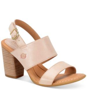 Born Holguin Dress Sandals - Pink 11M