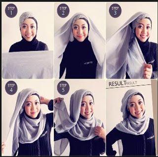 Hijab paris simpel dan mudah