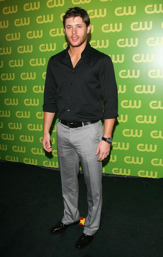 Actor Jensen Ackles attends the CW Television Network Upfront at Madison Square Garden May 18, 2006 in New York City.
