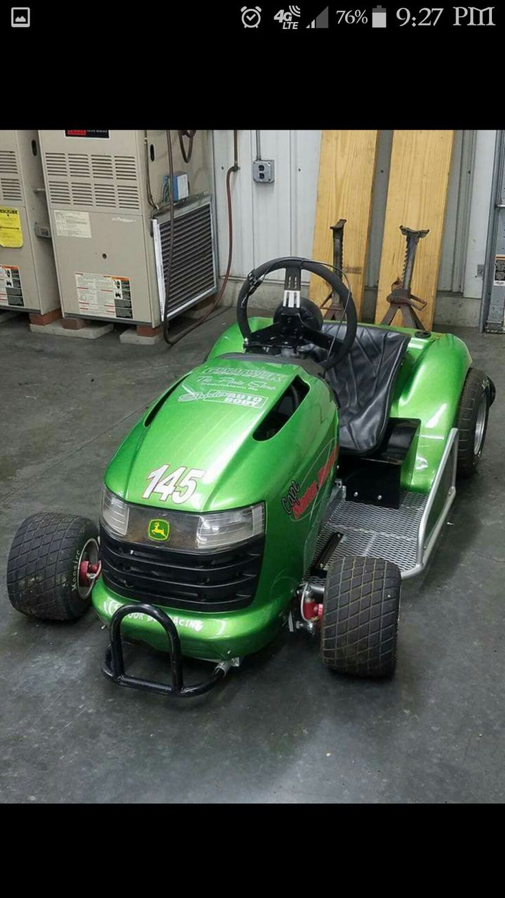 Now Onto Bigger And Faster Things Haha Lawn Mower Racing