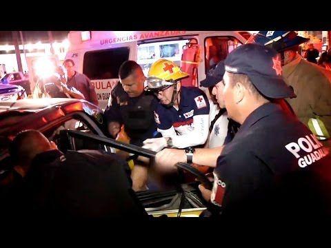 "Emergencias 065 - ""Choque con Cinco Lesionados"" (Cruz Roja)"