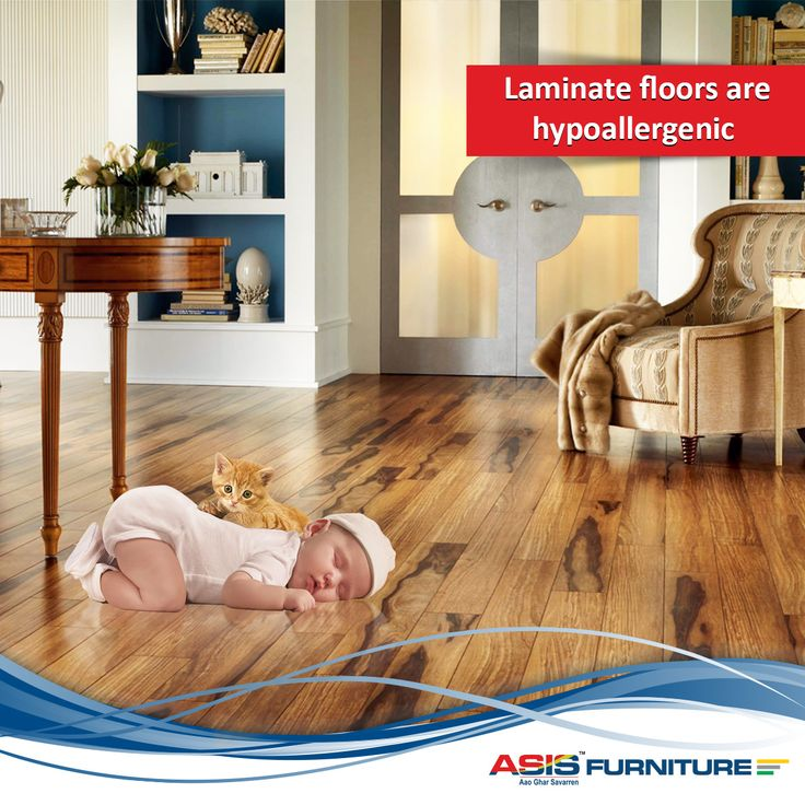 Did you know that Laminate floors are hypoallergenic because they do not collect dust, whereas dust accumulates in carpet fibres, which can be a health hazard for people with allergies. ‪#‎DidYouKnow‬ ‪#‎FurnitureFacts‬