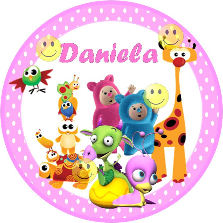 Resultado de imagen para cumpleaños con personajes de baby tv