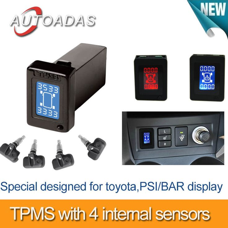 Find More Pressure & Vacuum Testers Information about freeshipping car tpms for toyota,show 4 wheels pressure at same time ,PSI/BAR option,4 internal sensors,tyre pressure monitoring,High Quality car mp3 cassette adapter,China tpms tool Suppliers, Cheap car tire pressure gauge from Autoadas car electronics shop on Aliexpress.com