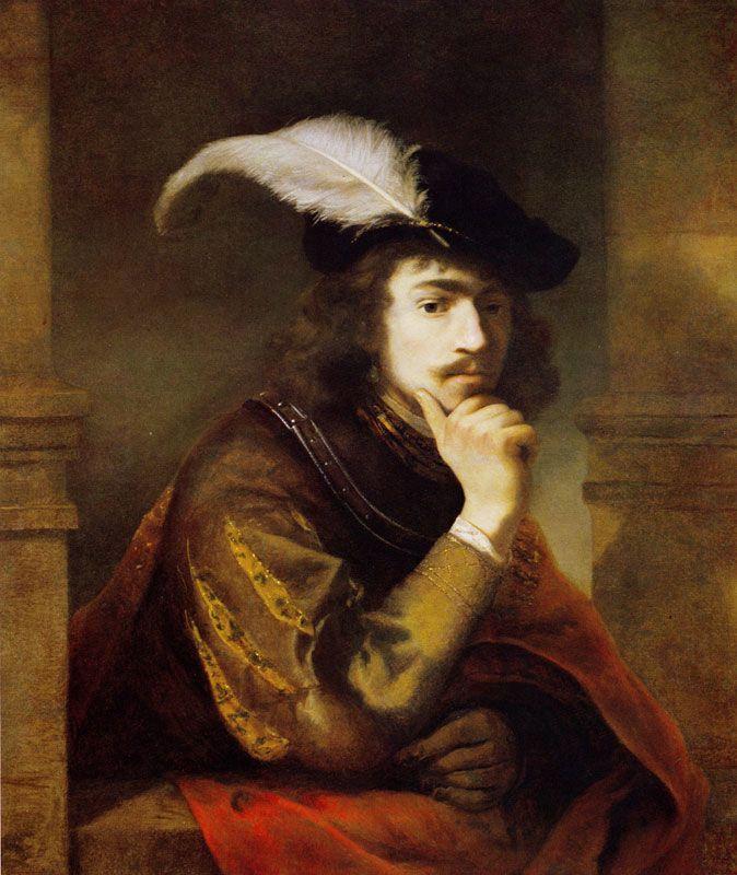 Ferdinand Bol - - - Self-portrait