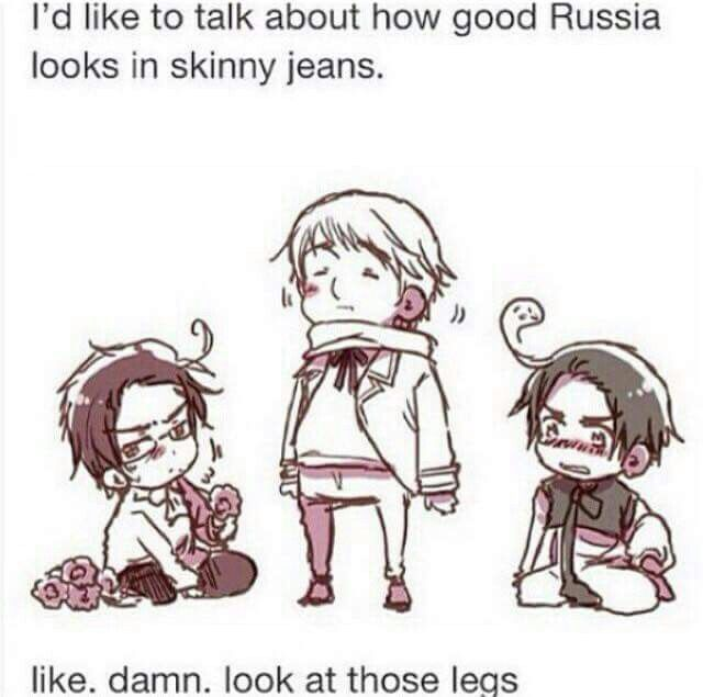 Russia and that tigh gap tho XD