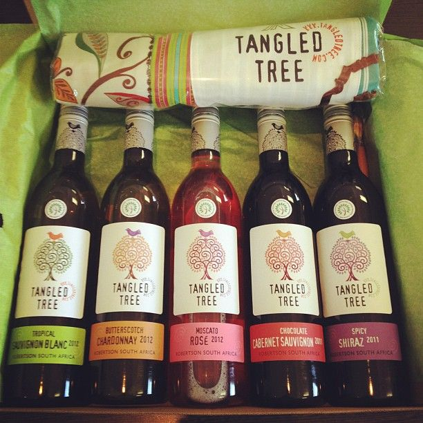 """Our pleasure, @brandslut_ Instagram: """"Thank you Van Loveren @TangledTree for spoiling me with my #TangledTreeTreasures! Can't wait to crack open the Chocolate Cabernet Sauvignon."""""""