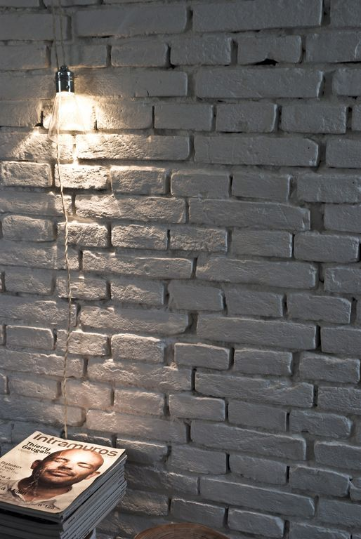 1000 Ideas About Painted Brick Walls On Pinterest Painted Bricks Painting Brick And Cafe Design