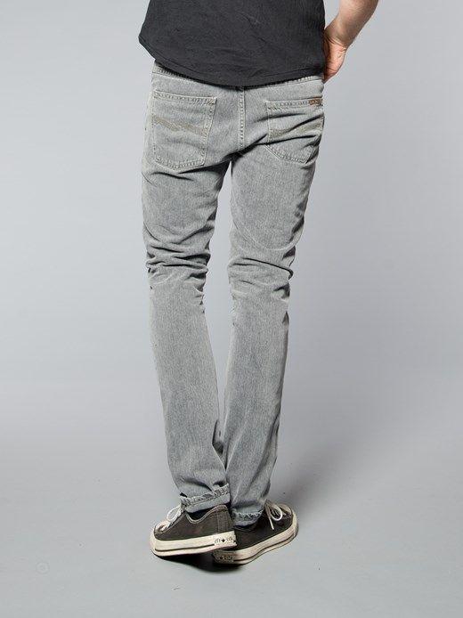 Grim Tim Organic Grey Phantom - Nudie Jeans Co