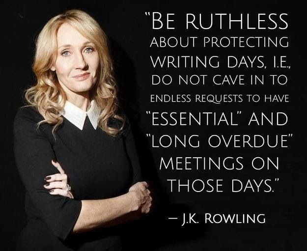 J.K. Rowling - Writing