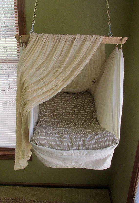 Bundle Deal Baby Hammock By Lunalay Includes Organic Cotton Shroom