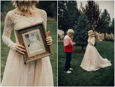 Prekrásna vintage nevesta: Netušila, že šaty snov nájde v babičkinej skrini | Top trendy | Preženu.sk