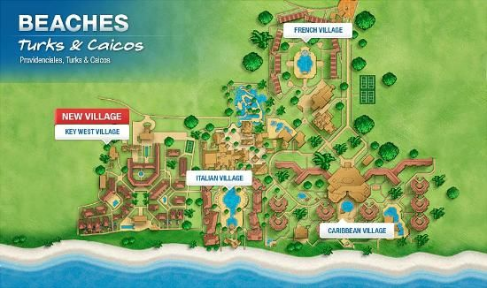 Beaches Turks And Caicos Map Beaches Turks and Caicos Resort Villages and Spa in 2019 | cute