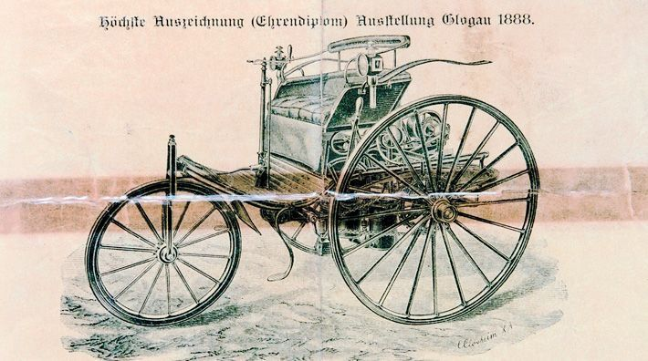 Mercedes Benz The Best Or Nothing The First Car Ever The