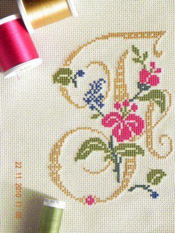 machine embroidery cross stitch