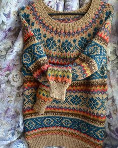 Fair isles, Fair isle sweaters and Colour combinations on Pinterest